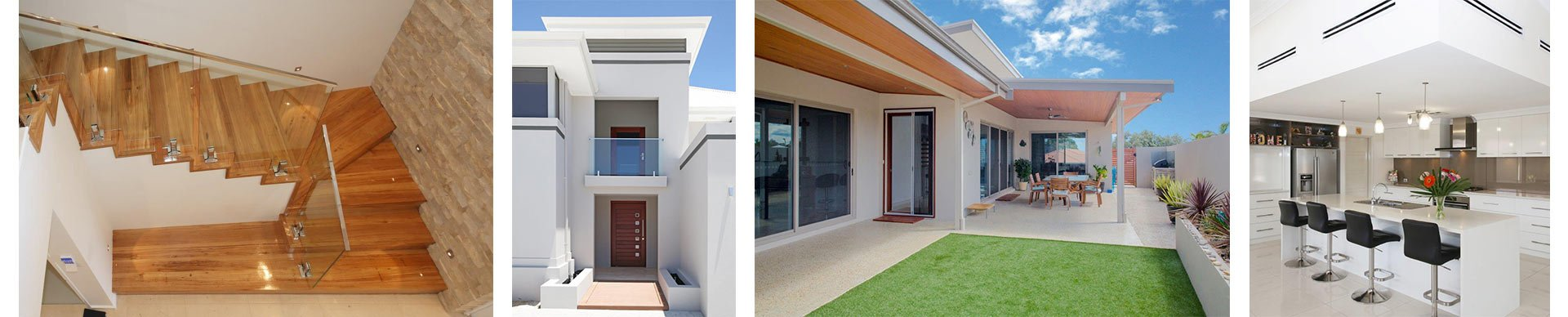 internal building designs in some of our Geraldton homes